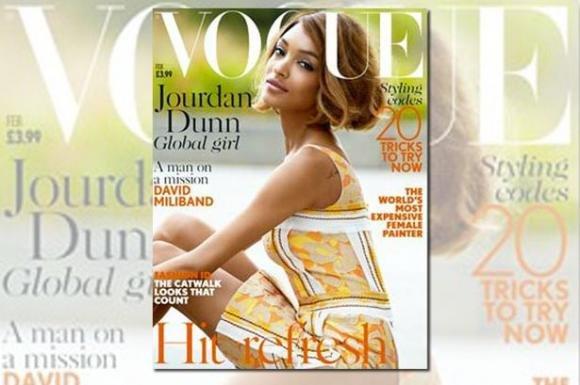 Jourdan Dunn è la prima modella di colore su Vogue UK in 12 anni