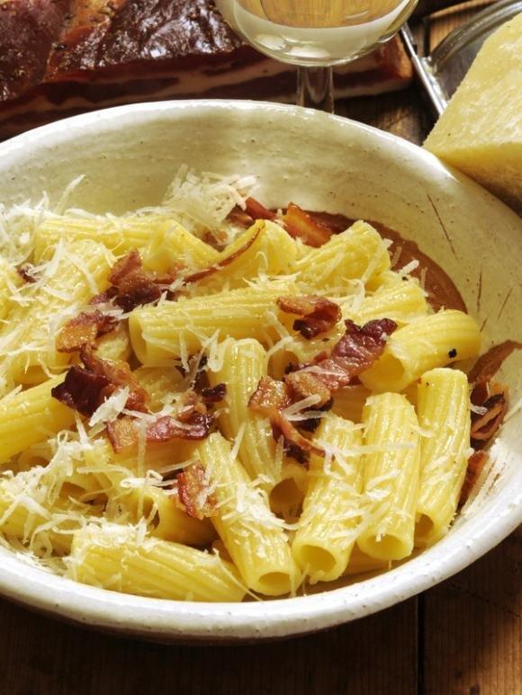 Ricetta Gricia Con Salsiccia.Ricetta Pasta Alla Gricia Fidelity Cucina