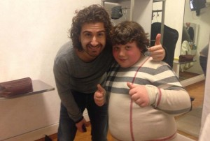 Alessandro Siani replica alle critiche su battuta del bimbo in sovrappeso