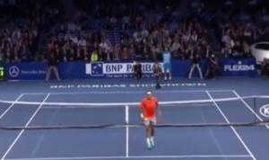 Ecco il video di Federer beffato dal piccolo raccattapalle