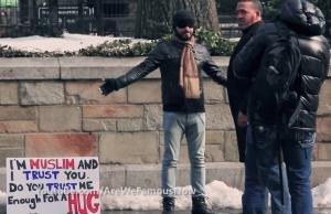 E tu? Abbracceresti un musulmano?