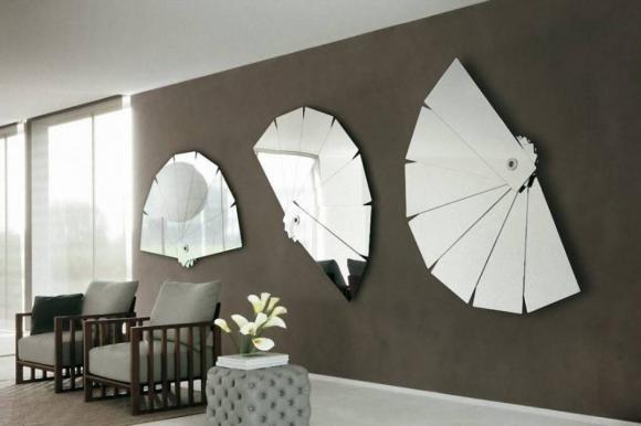 Specchi Da Arredo.Design Per Gli Specchi Da Parete Numerose Le Proposte In