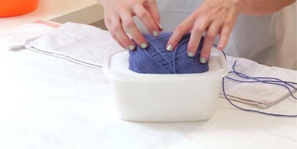 Come trasformare un gomitolo di cotone in una lampada