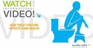Ecco come sedersi per evitare problemi intestinali