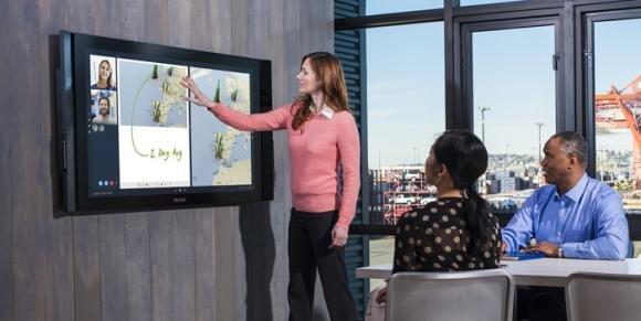 Microsoft Surface Hub: multimedialità estrema da 84 pollici