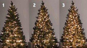 Ecco come mettere le luci sull'albero: tecniche e consigli