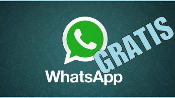 WhatsApp elimina il costo annuale di 89 centesimi e torna gratuita