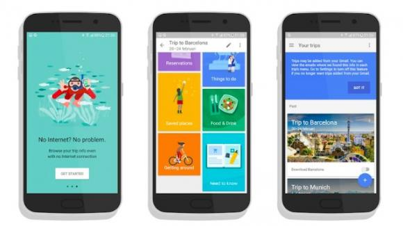 La miglior app pensata per chi viaggia potrebbe essere Google Trips