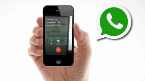 Whatsapp per Android ha integrato le videochiamate nell'interfaccia