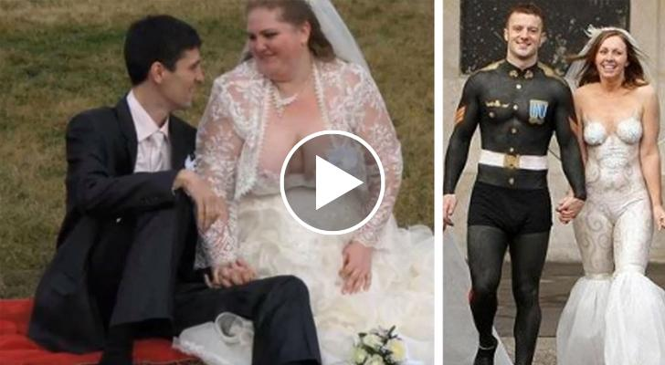 Abiti Da Sposa Orrendi.Ecco Gli Abiti Da Sposa Piu Brutti Della Storia Davvero Pessimi