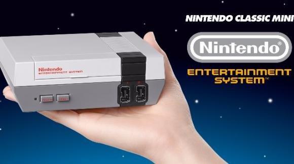 Ecco Nintendo Classic Mini, una NES compatta con 30 giochi precaricati