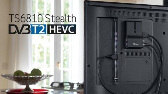 TeleSystem lancia il decoder Stealth che abiliterà il DVB-T2 sulle TV