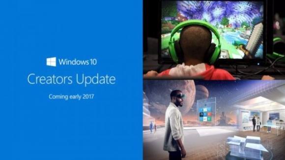 Windows 10 Creators Update: 3D, gaming broadcast, interattività