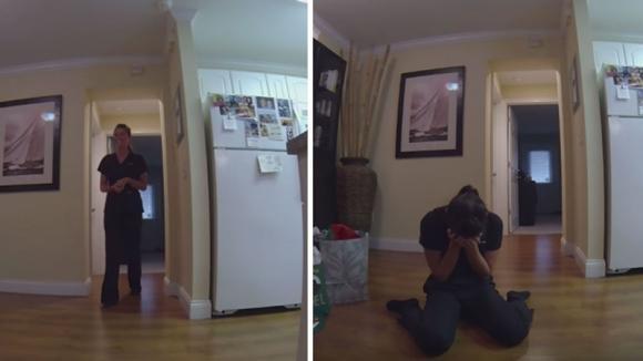 Il loro cane è morto. Il giorno dopo il marito le fa una sorpresa davvero commovente!