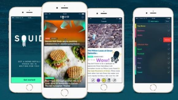 Squid, l'aggregatore di notizie con commenti e condivisioni creative