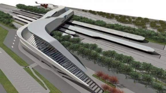La Stazione Napoli-Afragola sarà la più bella d'Italia