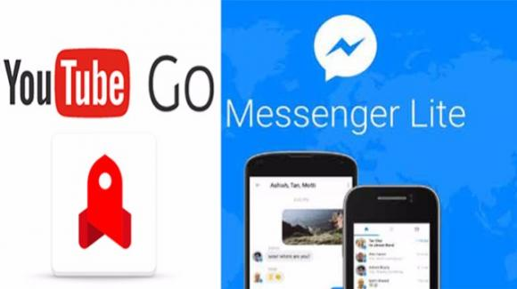 Facebook Lite e YouTube Go, ideali e risparmiosi sui dispositivi datati