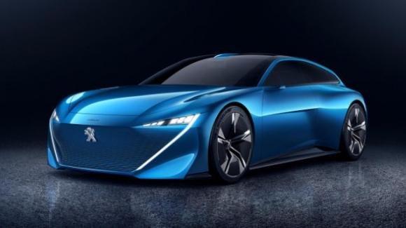 Instinct Concept Peugeot, l'ibrida che libera il tempo del conducente