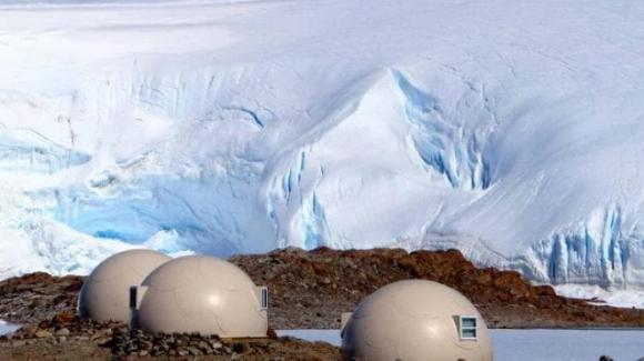 White-Desert, il luxury-camp costruito al Polo Sud