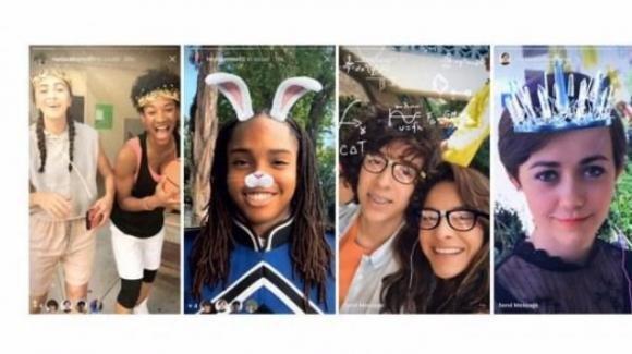 Instagram: filtri AR, video inversi, gomma magica, hashtag sulle Storie
