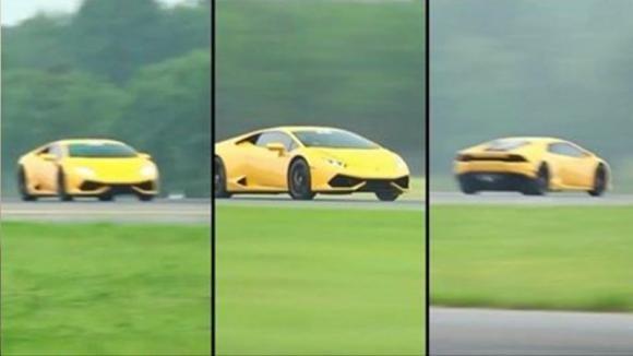 Questa Lamborghini Huracan vince il record mondiale di velocità. Ecco il suo speed test