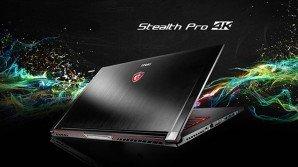 MSI GS63VR e GS73VR Stealth Pro: 2 gaming notebook leggeri e sottili