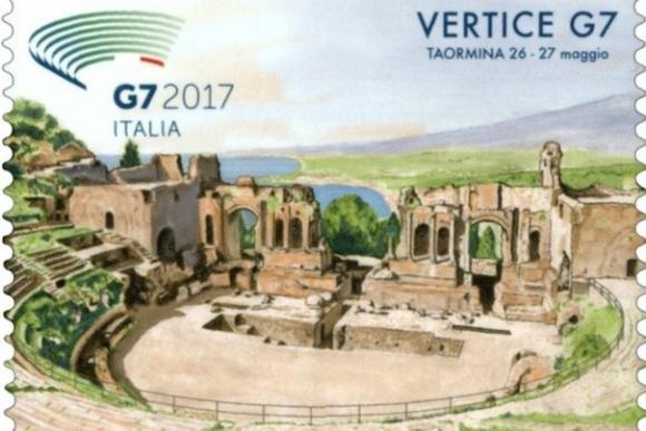 26 maggio, il vertice dei G7 anche in francobollo