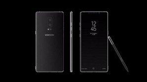 Galaxy Note 8: con Nougat 7.1.1, Infinity Display, e doppia postcamera