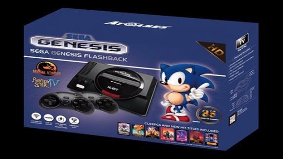Sega Genesis Flashback, consolle retrogaming con 85 giochi pre-caricati