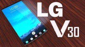 LG V30 ricarica wireless, doppia cam, e sensore di impronte sul retro