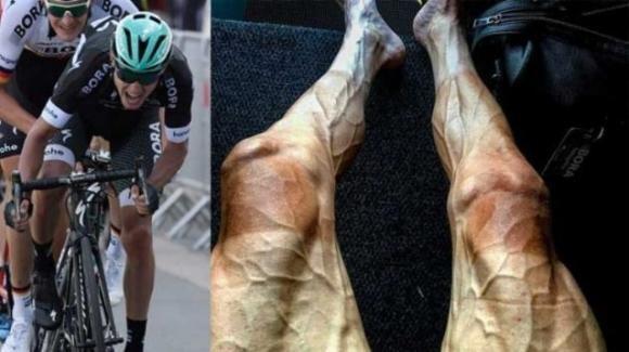 Poljanski: le gambe di un ciclista dopo 16 giorni di Tour de France