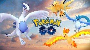 Su Pokémon GO sono apparsi i Pokémon Leggendari