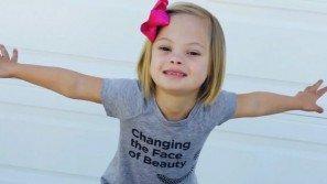 """Sofia ha solo 7 anni ma spiega a tutti perché """"la Sindrome di Down non fa paura"""""""