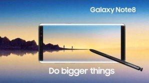 Galaxy Note 8: emersa la scheda tecnica e le colorazioni supportate