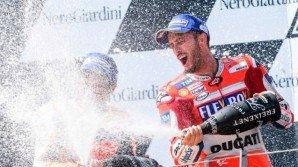 Gp Austria: grinta Dovizioso, battuto Marquez