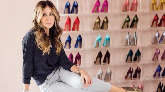 Da ottobre su Amazon Moda le scarpe glam di Sarah Jessica Parker