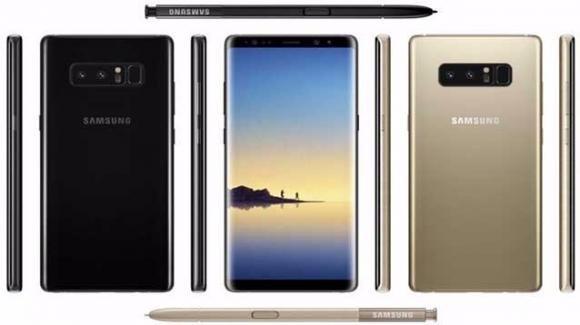 Galaxy Note 8: il phablet di Samsung torna con S-Pen e dual camera, ma costa tanto
