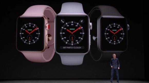Apple Watch Series 3, con o senza LTE: specifiche e prezzi