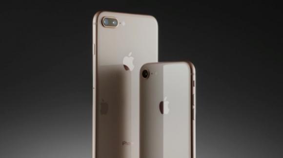 iPhone 8 e 8 Plus: aggiornamenti di lusso con qualche prestito dall'iPhone X