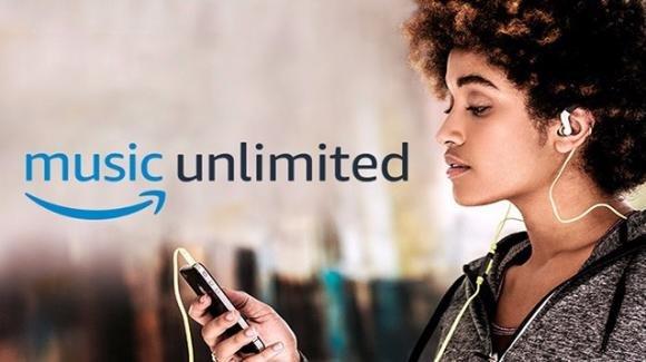 Amazon Music Unlimited arriva in Italia, con 50 milioni di canzoni, playlist, e radio