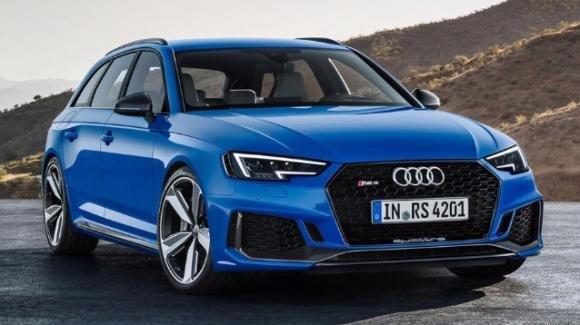 Audi RS4 Avant, la nuova station wagon di Ingolstadt si scopre più sportiva