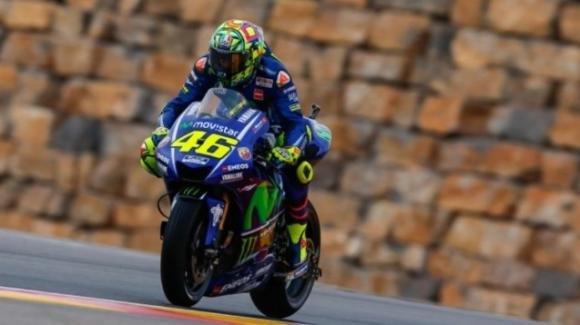 Gp Aragona: incredibile Valentino Rossi, è in prima fila