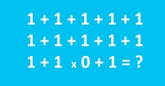 Riesci a risolvere questo quiz di matematica? Sembra semplice, ma…