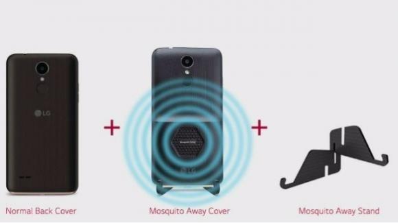 LG K7i, il primo smartphone entry level con sistema a ultrasuoni scaccia zanzare