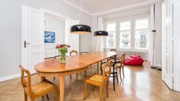 A Berlino in vendita appartamento da sogno con vista su Wilmersdorf