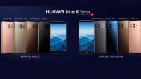 Mate 10, normale e Pro: arriva il phablet top di gamma della Huawei con processore smart
