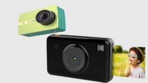 Fotocamere: Xiaomi vs Kodak, con la Xiaoyi Yi Lite Action Camera e la Mini Shot Instant Print