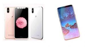 L'attacco dei cloni: Little Pepper S11 (iPhone X) vs Vkworld S9 (Galaxy S9)