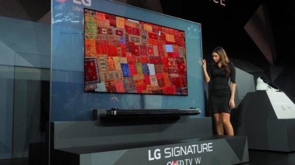 Al CES 2018, LG presenta la gamma completa delle sue TV per il 2018