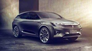 Byton Crossover Concept: al CES 2018 il crossover elettrico e low cost con plancia